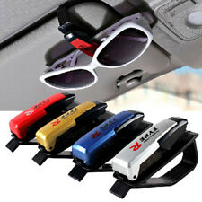 Auto Random Color Car Sun Glasses Clip Holder Visor Mount Eyeglasses Vehicle