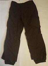 BURTON Men's Brown Waterproof Softshell Winter Ski Snowboard Cargo Pants size M