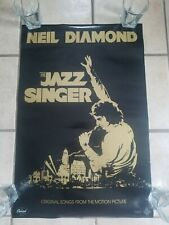 Neil Diamond 1980 The Jazz Singer Large Promo Poster Authentic Original 20x30