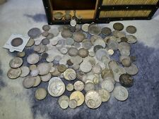 More details for 1000g job lot of old silver coins start from 19th century mix purity .400 to 900