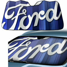 Ford Classic Factory Logo Car Truck Front Windshield Folding Sun Shade Sunshade