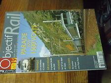 3µ? revue Objectif Rail n°19 CC 65000 EAD J3 de Calais USSEL Gisors-Serqueux