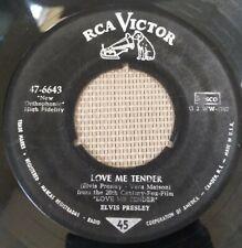 """Elvis Presley """"Anyway You Want Me / Love Me Tender"""" -  7"""" Vinyl 45 RCA Victor"""