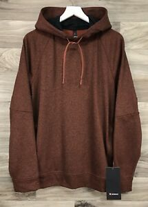 Lululemon City Sweat Pullover *Thermo Size M HDTT Heathered Terracotta 01787