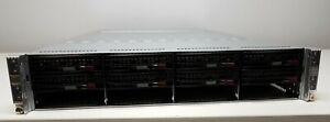Supermicro H8DGT 4-Node Server Opteron 6378 2.4GHz (x8) 256GB RAM No HDDs (M)