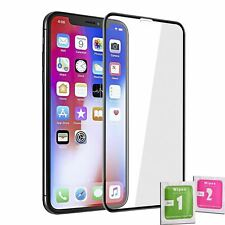 Tempered Glass Screen Protector For IPHONE XR/11 BLACK Full Coverage
