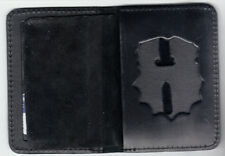 NY/NJ Police-Style-Chaplain Badge Cut0Out/ID Book Wallet (badge/ID NOT included)