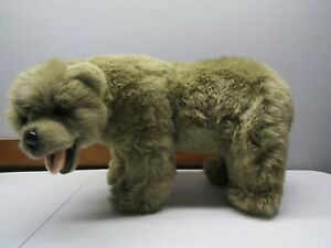 "RUSS YOMIKO COLLECTION BROWN BEAR PLUSH ~ Stuffed Animal ~ LARGE App. 18"" Long"