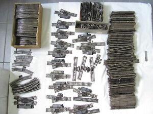 Trix Express Konvolut Pappschienen Weichen ca. 350  Teile Zustand siehe Fotos !