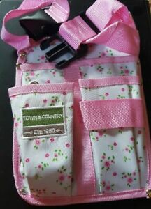 Town And Country Secateur & Gardening ,DIY Tool Belt Pink Floral Garden Patio