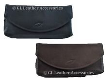 Leather Pipe And Tobacco Pouch Case 2 Colors