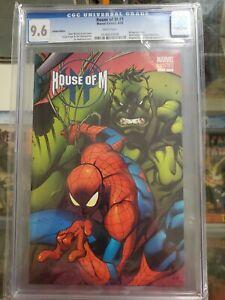 House of M 1 CGC 9.6 Madureira Variant Avengers X-men Spider-Man Hulk Wolverine