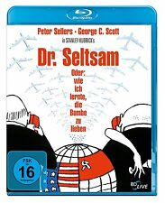 BLU-RAY DR. SELTSAM ODER WIE ICH LERNTE DIE BOMBE ZU LIEBEN - PETER SELLERS *NEU