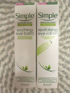 SIMPLE~~U PICK FROM 2 TYPES~~SOOTHING OR REVITALISING EYE TREATMENTS 15ML