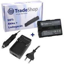 Akku für Professional Sony HVR-A1E 4200mAh Anthrazit mit LEDs 7,4V 4200mAh//31,1W
