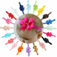 10PCS Girls Bow Flower Headwear Headband Kids Baby Toddler Hair Band Accessories