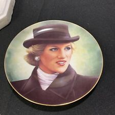 Princess Diana Collector Plate Sophisticated Lady Danbury Mint Barry Morgen