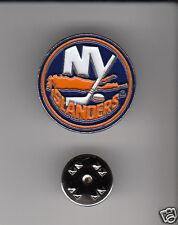 Lot 10 x NEW YORK ISLANDERS NYI NHL Hockey Team Logo METAL LAPEL PINS New Sealed