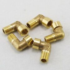 "LOT5 1/2"" BSPP Elbow Female-Male Pipe Brass Adapter Coupler Connector Connection"