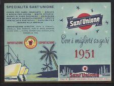 CALENDARIO DE MESA BOLSILLO AÑO 1951 SANT'UNIÓN BOLONIA (013)