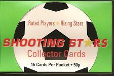 MERLIN SHOOTING STARS FOOTBALL CARDS SET 396 1991/92 English Scottish Div1 + Box
