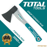 Total Tools - Hand Axe Hatchet 390mm Wood / Log Chopper Fibreglass Handle