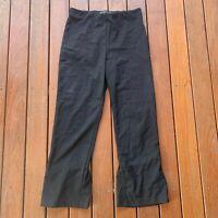 Zara Trafaluc Size M Black 3/4 Pants Business Work