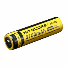 NiteCore NL188 Protected 3.7V 3100mAh 18650 Rechargeable Li-ion Battery