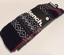 Mens Bench Mens 5 Pack Socks Formal Fairisle Size 7-11 New £8.50