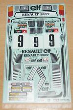 Tamiya 47435 Renault 5 Turbo Rally/M05Ra, 9498073/19498073 Decals/Stickers, NIP