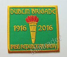 Ireland Irish Republican Army Dublin Brigade 1916-2016 Patch (green)