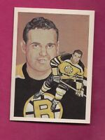 1987 HALL OF FAME BRUINS LEO BOIVIN   ELECTED 1986 MINT CARD (INV# 7941)