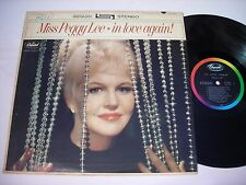 Peggy Lee In Love Again! 1963 Stereo LP VG++