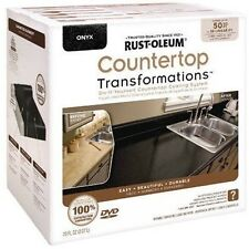 Rust-Oleum 258284 ONYX Countertop Transformations Kit 50 Sq. Ft FREE PICKUP OPTN