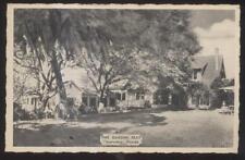 Postcard CLEARWATER Florida/FL  Garden Seat Tea House/Room & Gift Shop 1930's