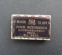 Boite plume JOHN MITCHELL no 0370 pen nibs box Schreibfeder pennini
