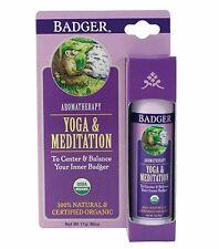 BADGER BALM ORGANIC YOGA & MEDITATION - TO CENTER & BALANCE YOUR INNER BADGER