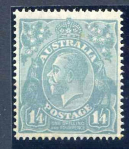 Australia 1/- 4d Pale Blue SG66 Unmounted Mint