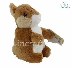 Brown Rabbit Soft Toy by Teddy Hermann. Easter Bunny Sold by Lincrafts. 93801