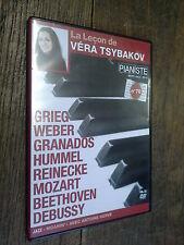 la leçon de Véra Tsybakov  Pianiste n° 70 DVD Grieg Weber Granados Hummel