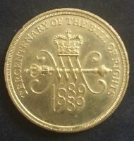 Collectable Coin Tercentenary of the Bill of Rights Two Pound, 1689-1989 300 yrs