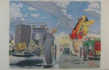 Robert Williams Hot Rod Race Poster