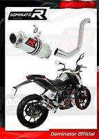 KTM Duke 125 2011 2012 2013 Stainless Steel Stubby GP Style Race Exhaust Can