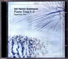 Atli Heimir Sveinsson b.1938 pianoforte Trio 1 2 3 Hyperion TRIO CD pianoforte Trio CPO