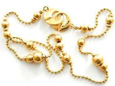 Pilgrim Damen Halskette 46 cm Charms vergoldet 560-952