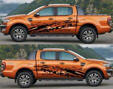 Ford Ranger WIldtrack large side Vinyl Decals graphics sticker 2015-2019