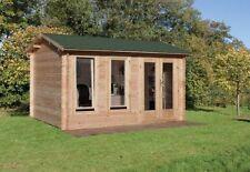 Wooden Gabled Summerhouse Garden Sheds