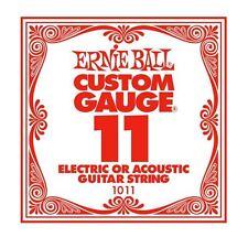 ERNIE Ball Custom Gauge corda di chitarra unica per eectric/acustica (11)