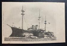 Mint France Picture Postcard Courbet Battleship Cruiser