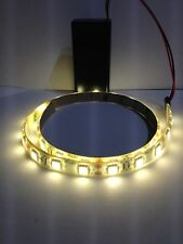 Super Bright Warm White Led Light, 9V Battery Operated 500mm Waterproof Strip.